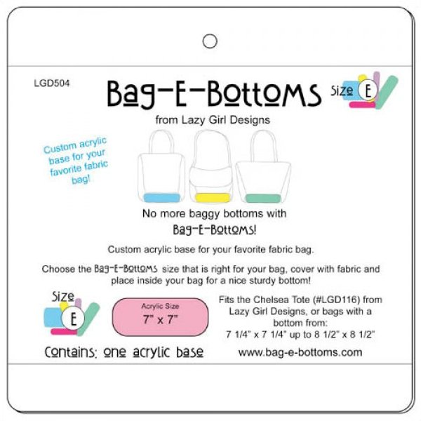 Bag-E-Bottoms Size E