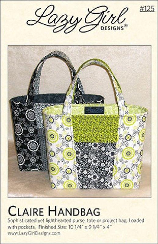 Claire Handbag by Lazy Girl Designs #125