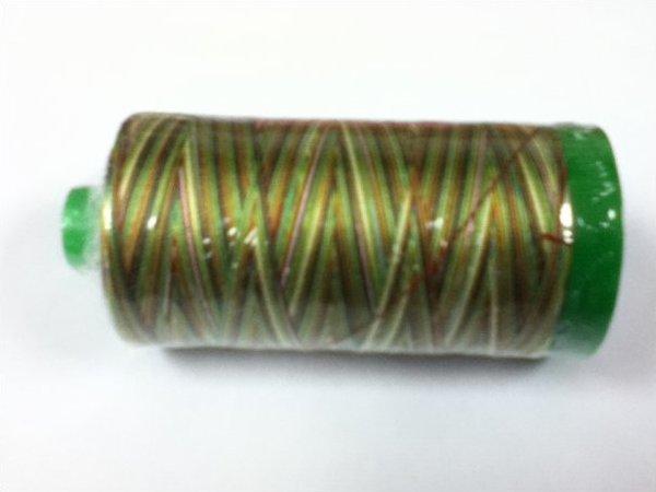 Aurifil Thread Cotton Mako 40 Wt. Variegated MUSTARD/GREEN/RED