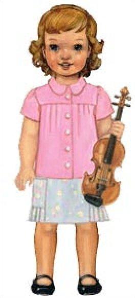 Music Class Blouse + Skirt