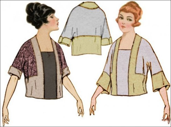1920's Tunic with Kimono Sleeve