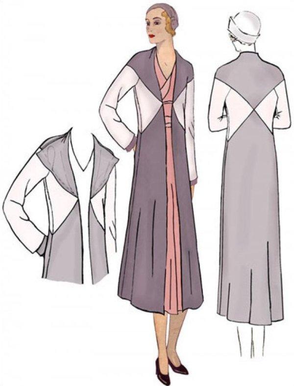 1930's Crossing Coat - #3010