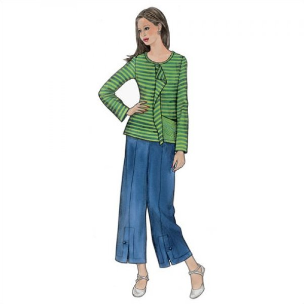 Urban T-Shirt and Pants Pattern - Sewing Workshop
