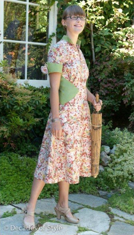 1950's Diamond Dress