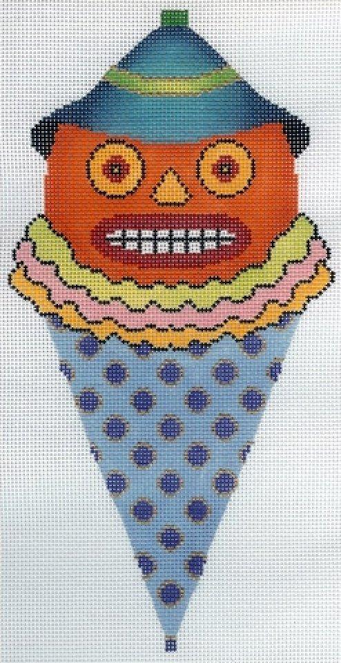 Jack-O-Lantern Cone