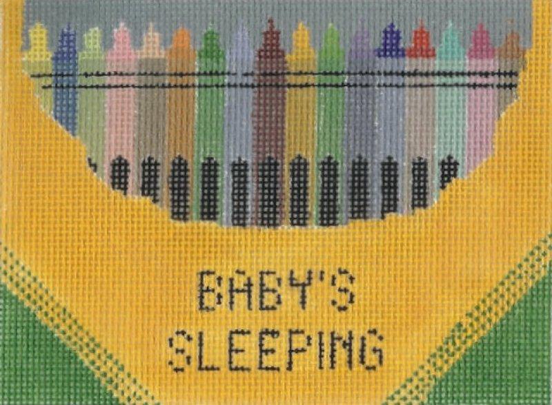 Baby Sleeping - Crayons