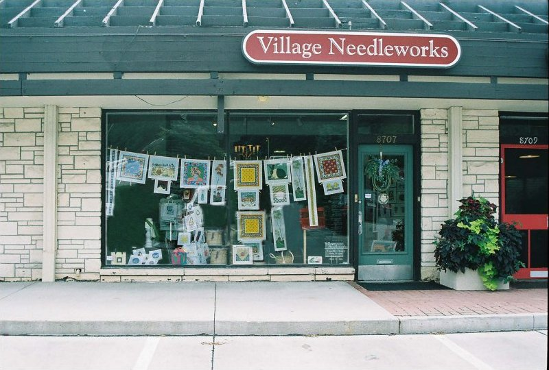 Village Needleworks Omaha's full-service needlepoint shop