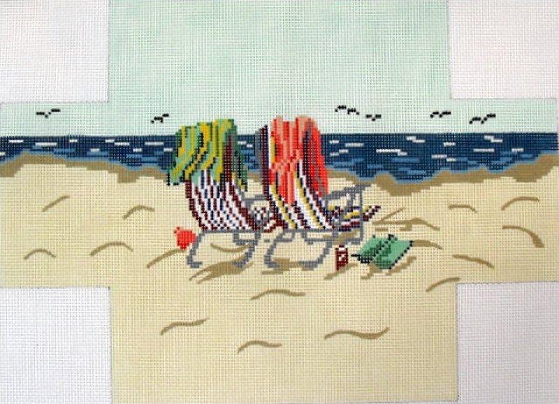 Beach Chairs Brick Cover