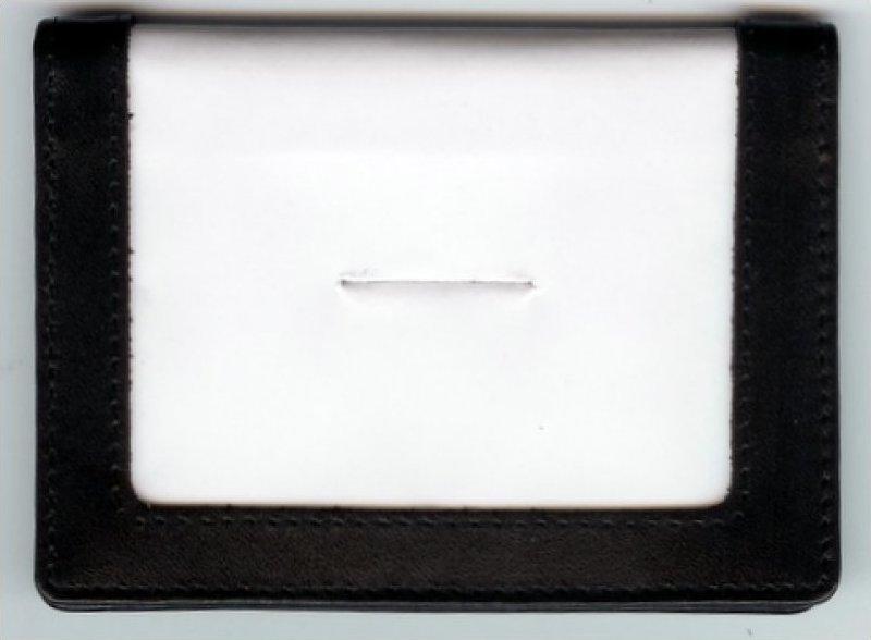 Credit Card Holder Black (BAG49)