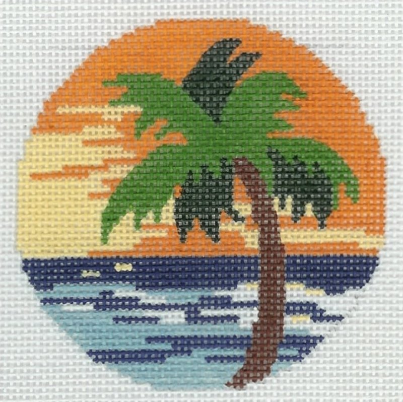 Round - Palm