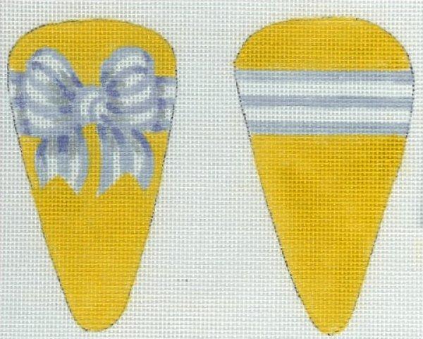 Striped Bow Scissor Case