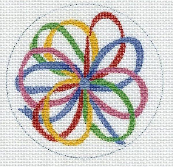 Round - Rainbow Bow