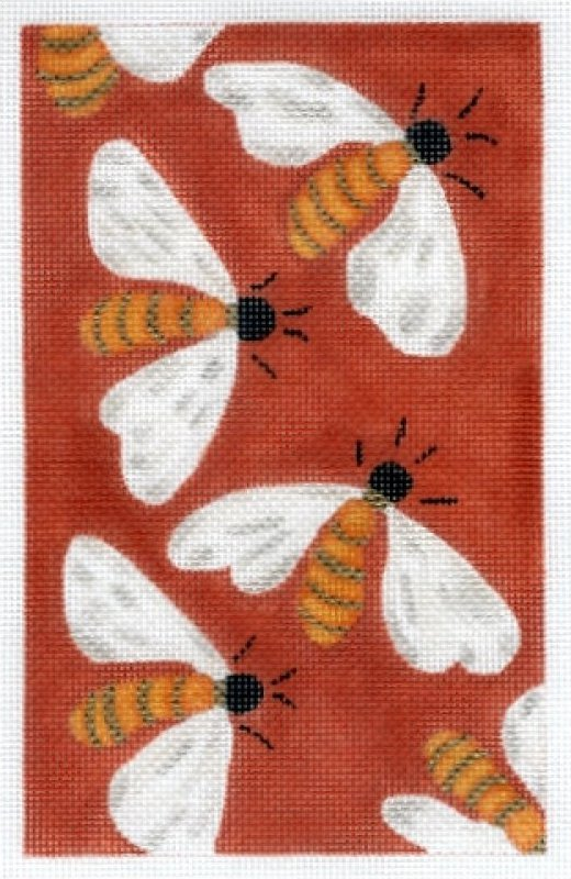 Bees on Red
