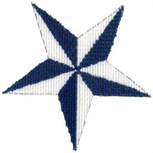 ASITJ12 Blue & White Star