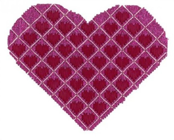ASITV10 Quilted Heart