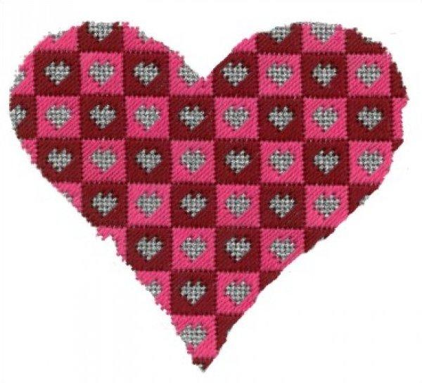 ASITV12 Checkerboard Heart