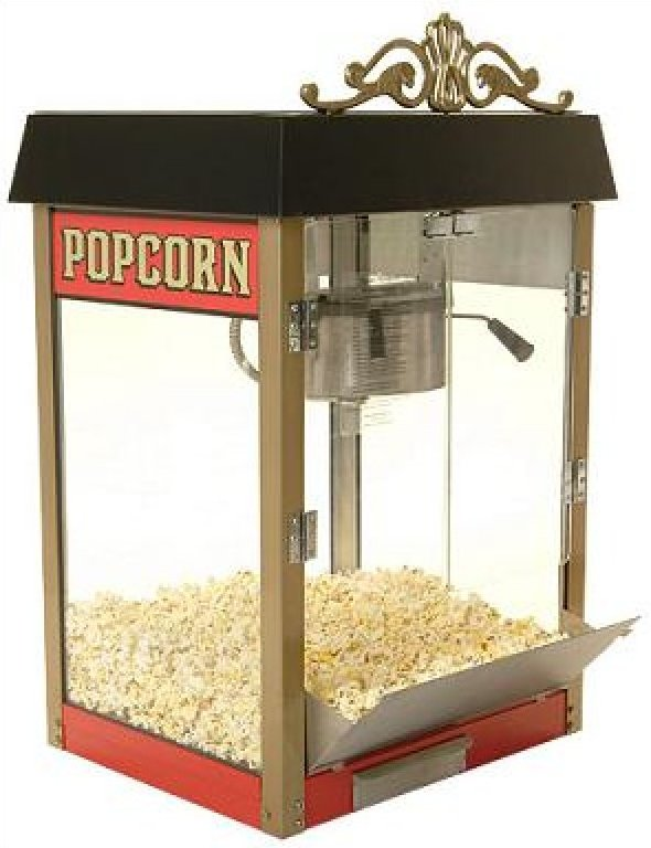 Street Vendor 4 ounce Popcorn Machine
