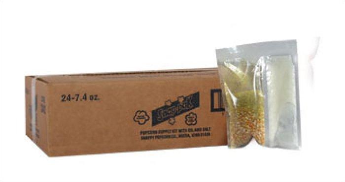 Snappy 4oz Popcorn Snap Packs Caramel Glaze 24/case