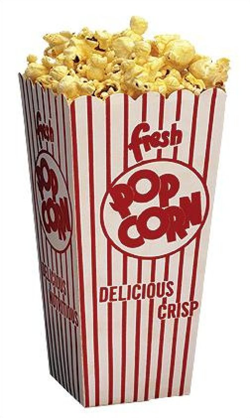 1.25 oz Popcorn Scoop Boxes 100/Case