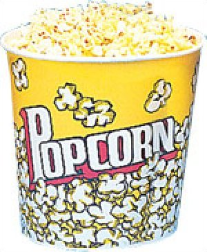 Yellow Popcorn Cups 170oz 25 count