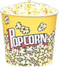 Yellow Popcorn Cups 85oz 25 count