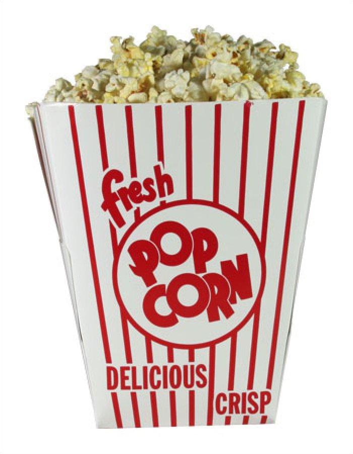 Square Popcorn Tub 130oz 200/case