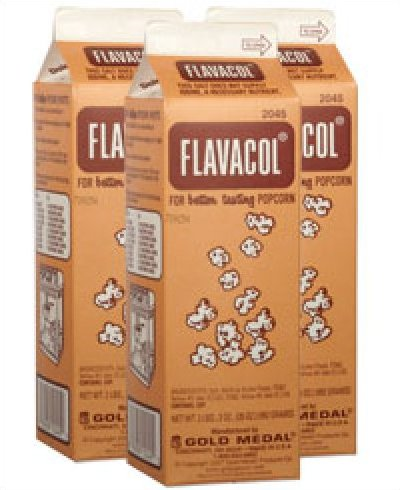 Flavacol Buttery Flavored Popcorn Salt - Case of 12 Cartons