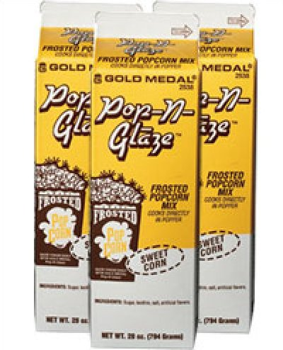 Pop-N-Glaze - Kettle Style - Case of 12 Cartons