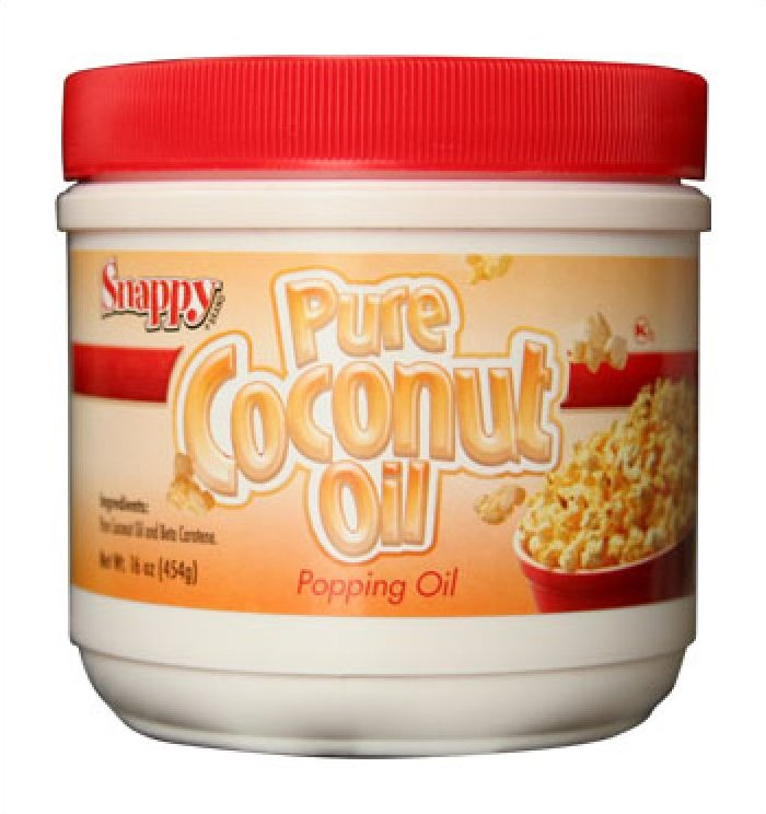 Snappy Colored Coconut Oil 1# Jar