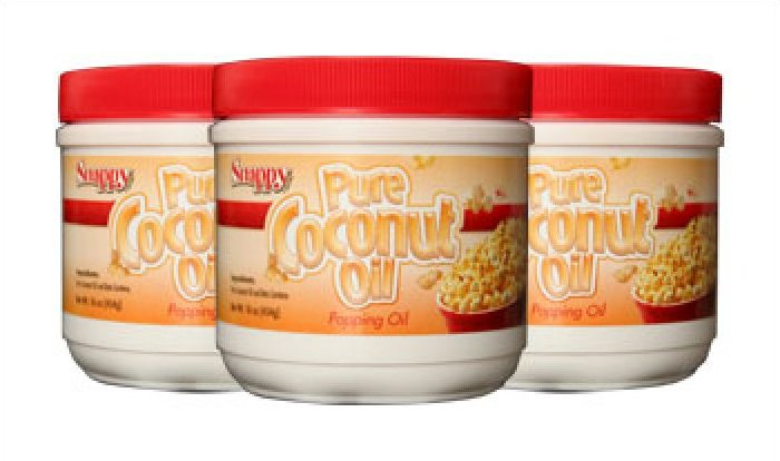 Snappy Colored Coconut Oil 1# Jar 12/case