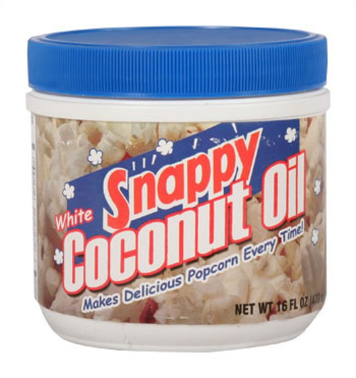 Snappy Pure (White) Snappy Coconut Oil 1# Jar
