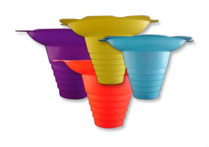 Snow Cone Flower Cups - 250 cups