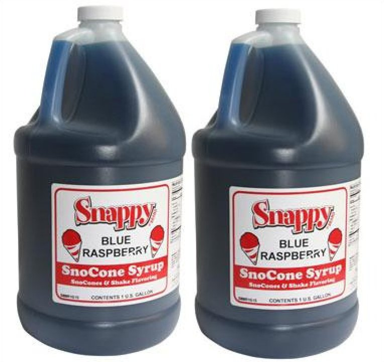 Snappy Snow Cone Syrup 2- one gallons