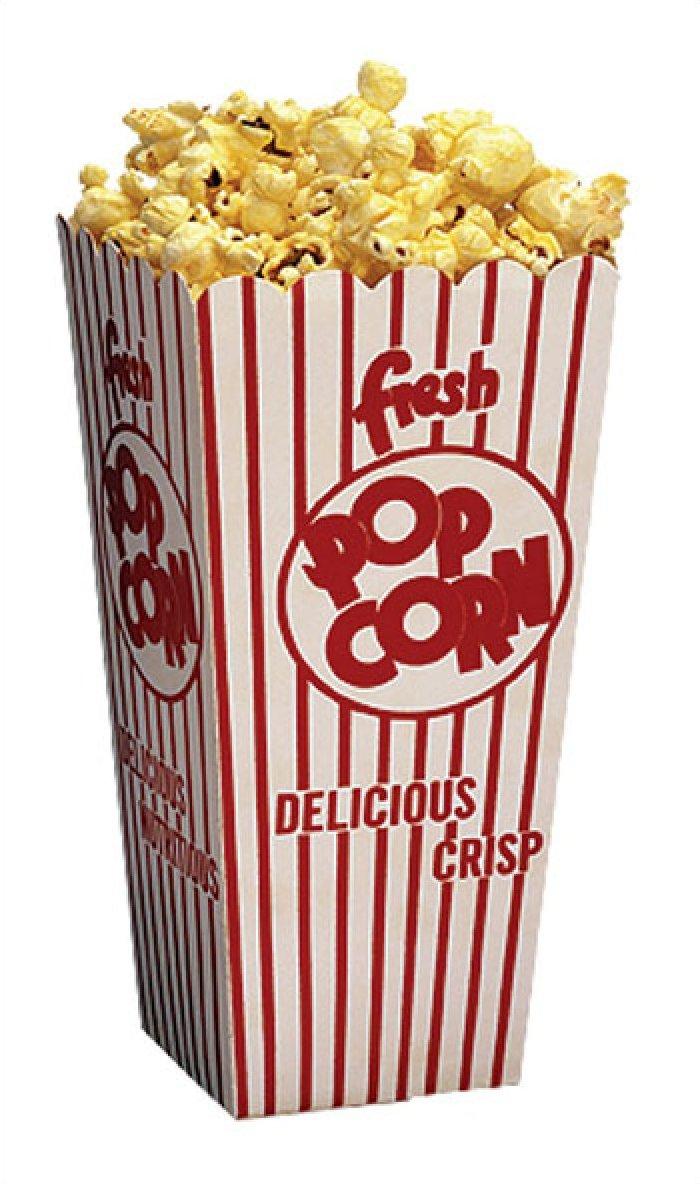 .75 oz Popcorn Scoop Boxes 500/Case