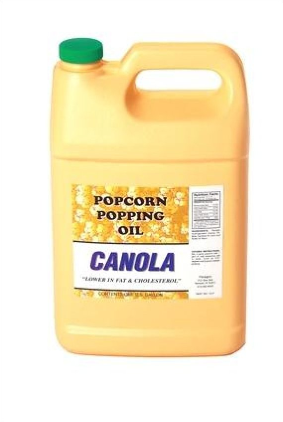 Canola popping oil - one gallon