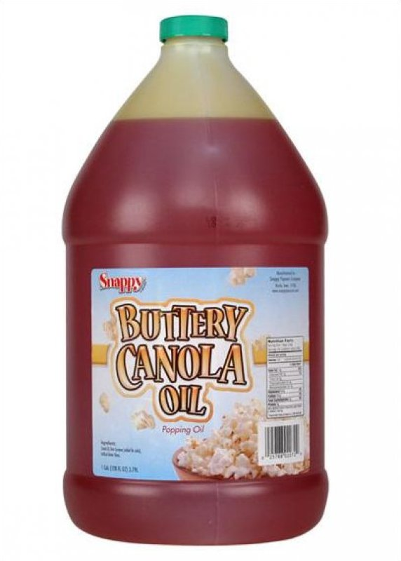Snappy Buttery Canola Oil - One Gallon