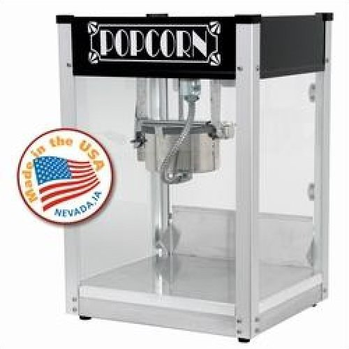 Gatsby Popcorn Machine - Black 4oz by Paragon