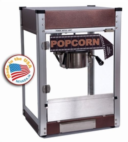 Cineplex 4oz Popcorn Machine by Paragon  - Copper color