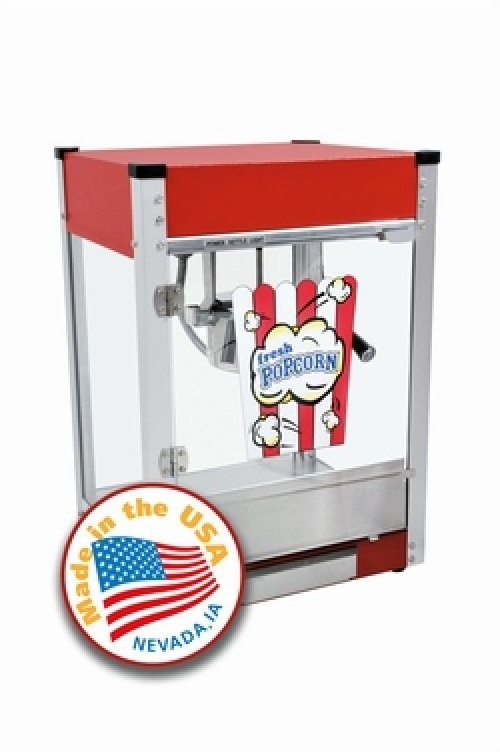 Cineplex 4oz Popcorn Machine by Paragon - Red
