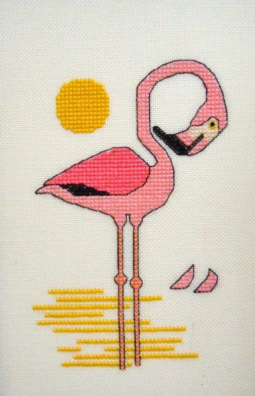 Flamingo Sunrise #207
