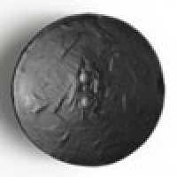 45MM Round Black Licorice