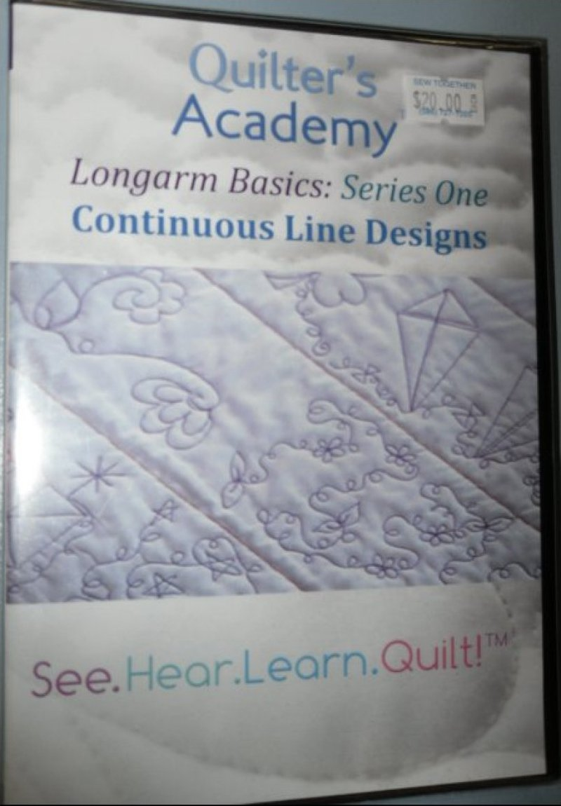 Longarm Basics Series One Continuous Line Designs