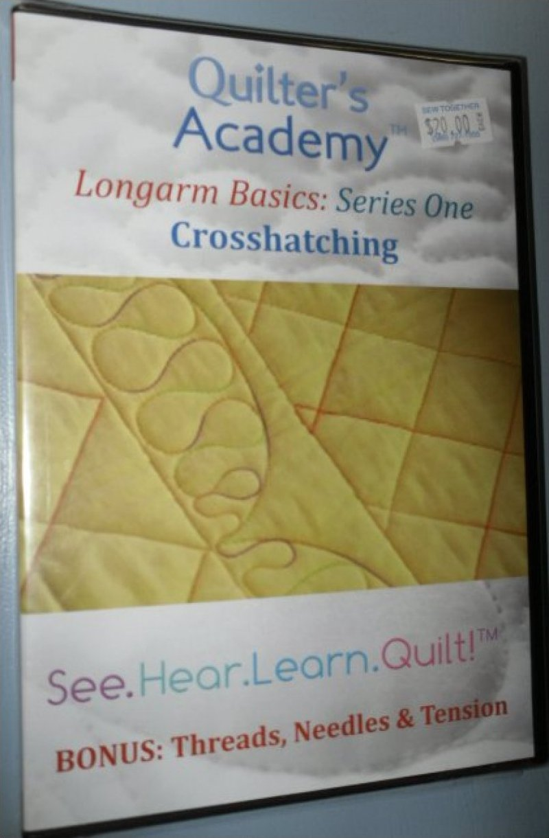 Longarm Basics Series One Crosshatching