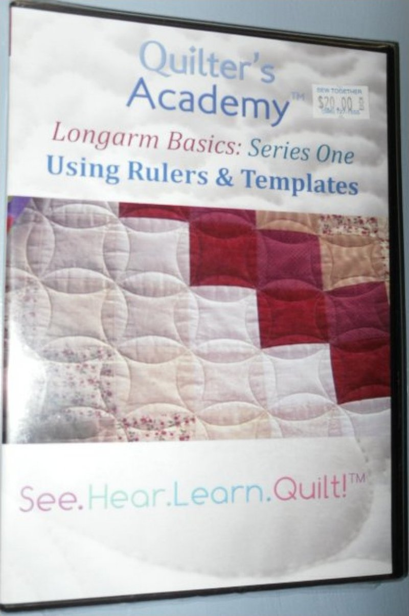 Longarm Basics Series One Using Rulers & Templates