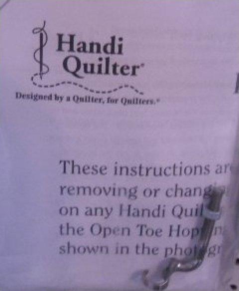 Handi Quilter Hopping Foot Changing Kit
