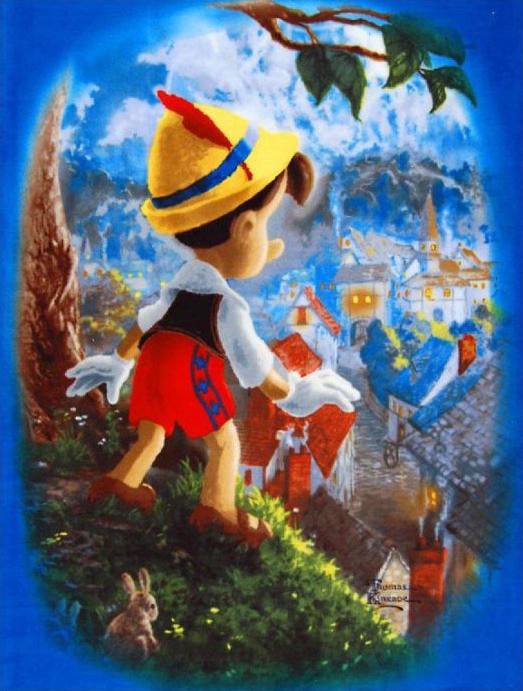 Pinocchio's Wish - Panel