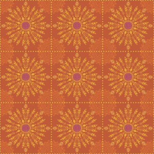 Road to Marrakech - Tile Floral (Orange)