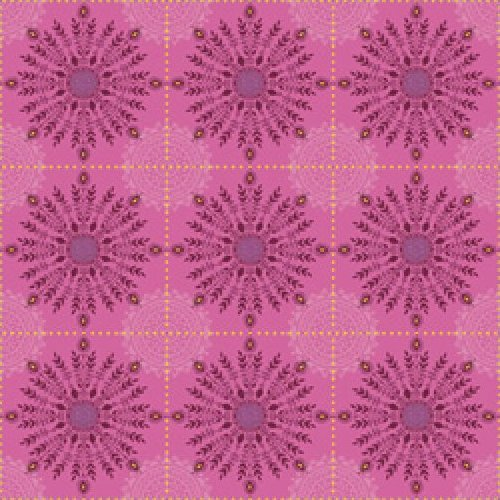 Road to Marrakech - Tile Floral (Pink)