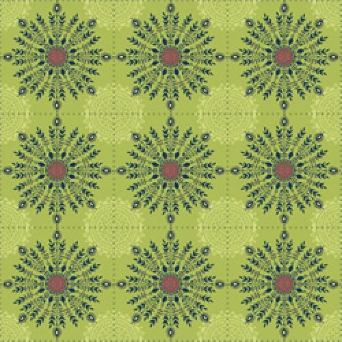 Road to Marrakech - Tile Floral (Green)