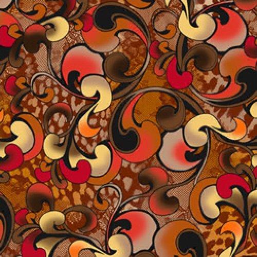 Harlee - Swirl (orange)
